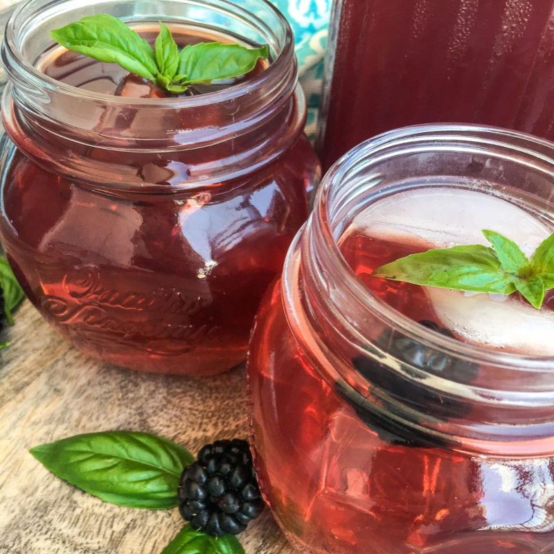 blackberry instant pot iced tea