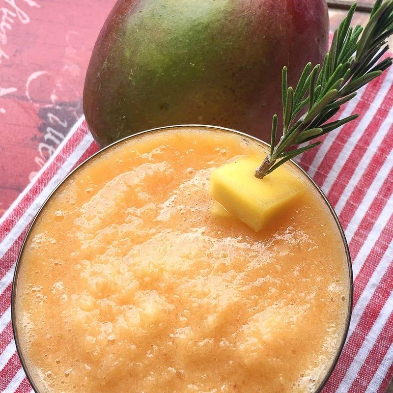 blended mango margarita