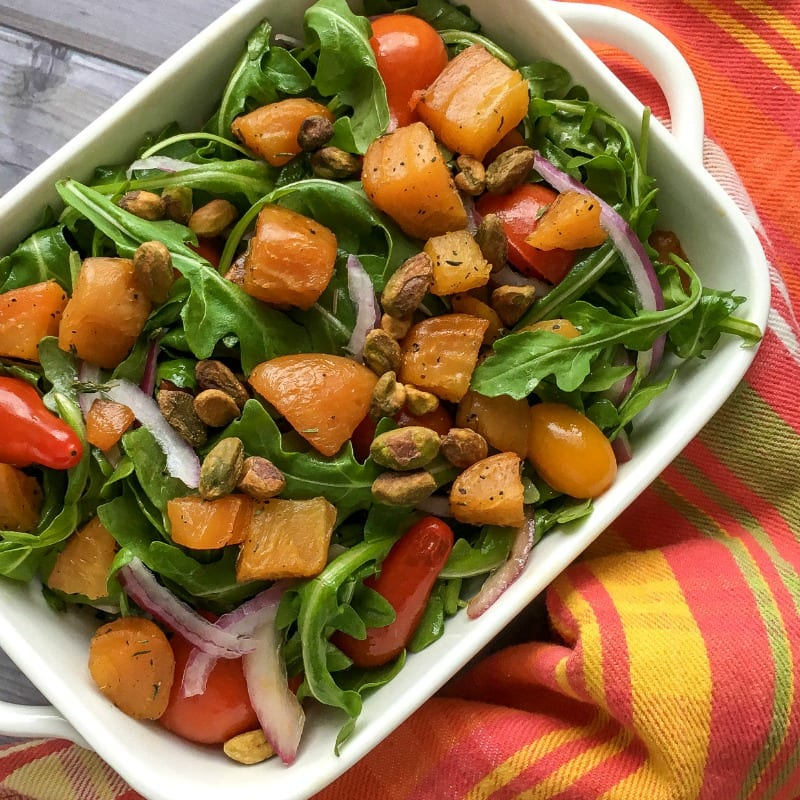 insta pistachio beet salad