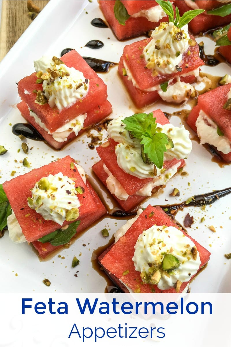 pin stacked caprese watermelon appetizers
