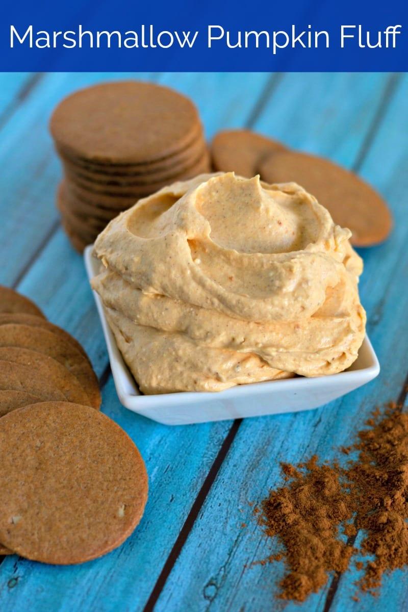 Marshmallow Pumpkin Fluff Dip Recipe