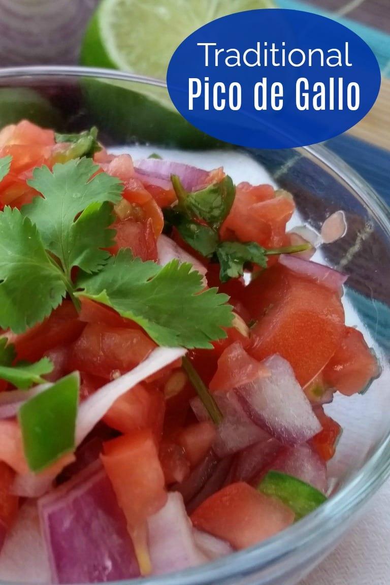 Traditional Mexican Pico de Gallo Recipe