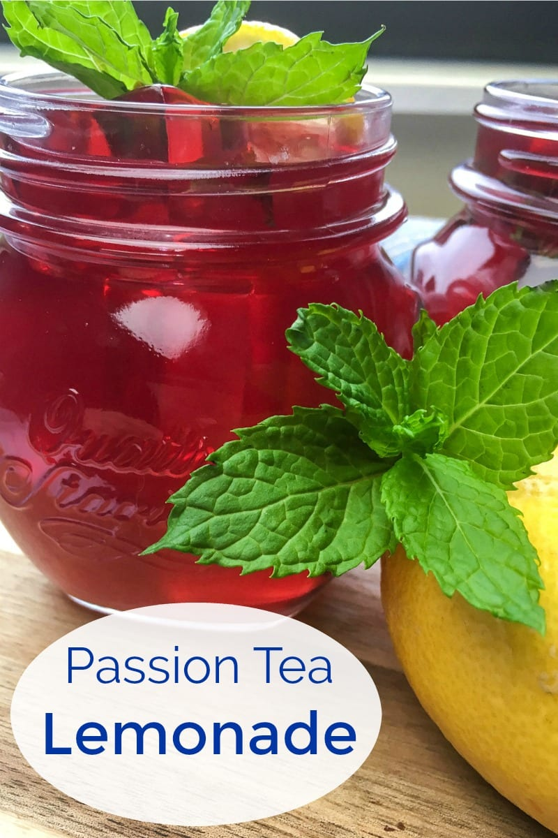 Refreshing Passion Iced Tea Lemonade Recipe