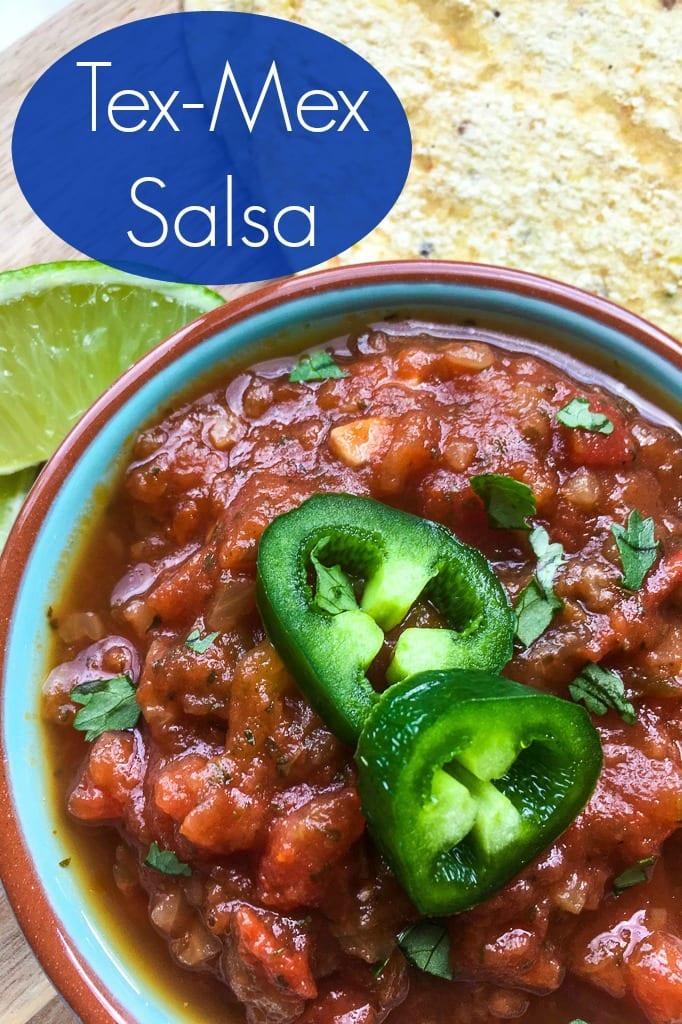 pin tasty restaurant style tex mex salsa