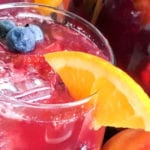 Non-alcoholic Berry Peach Punch Recipe