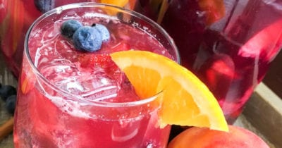 feature berry peach punch
