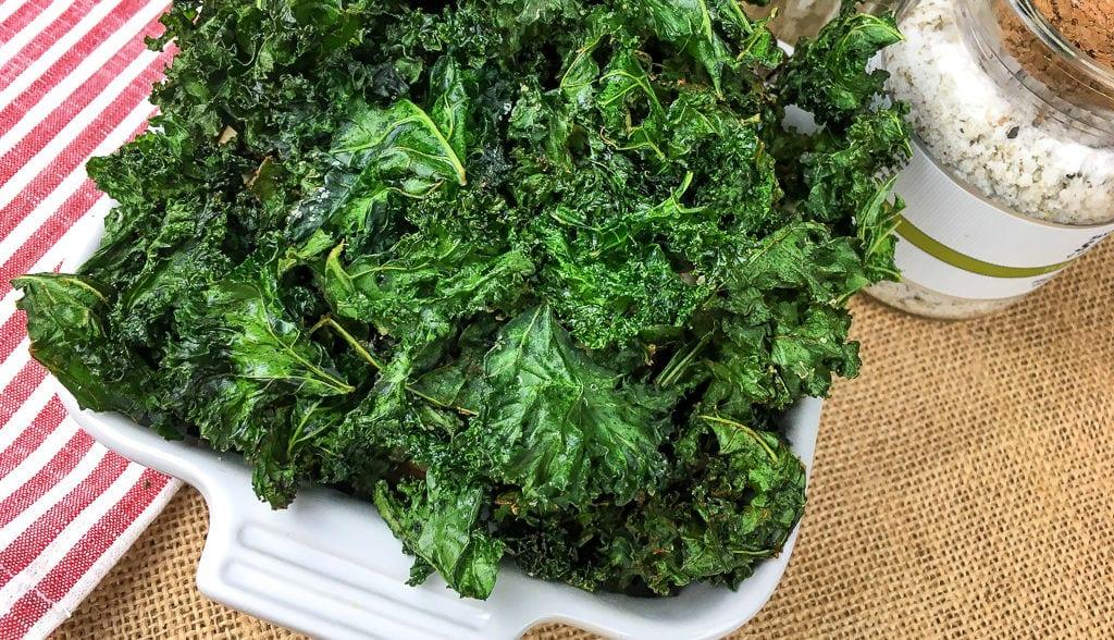 feature crispy kale chips