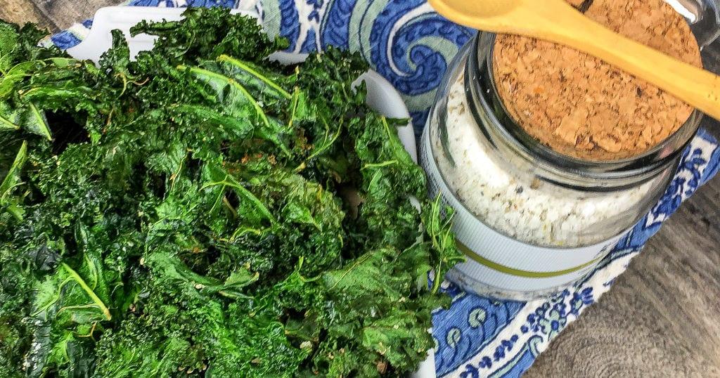 feature seasoned kale chips