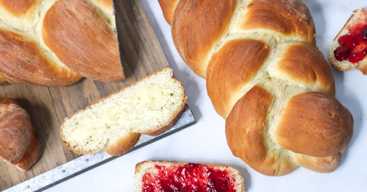 feature swedish cardamom bread