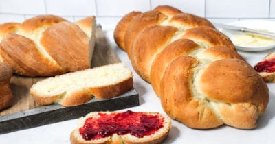 feature traditional cardamom bread