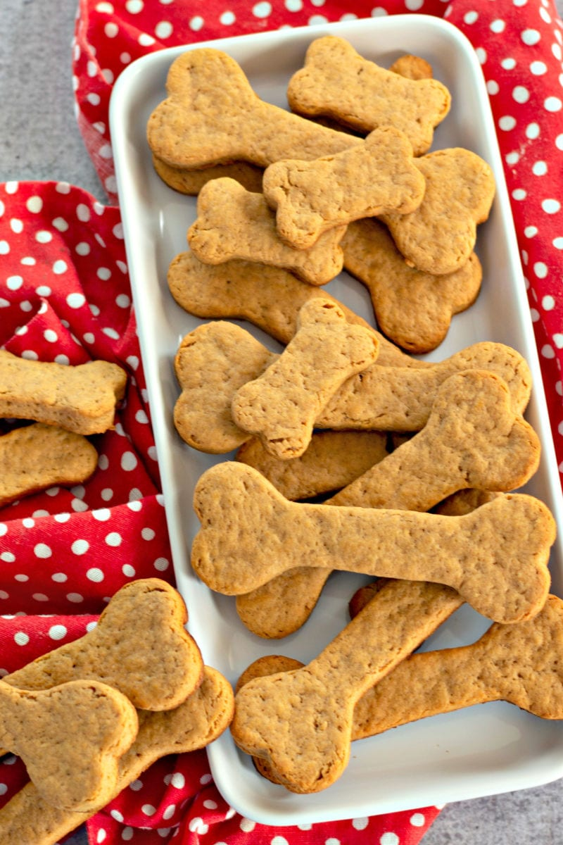 Homebaked Dog Treats Recipe - When you want to make your pet happy, offer them homebaked dog treats that you have made with love and wholesome ingredients.