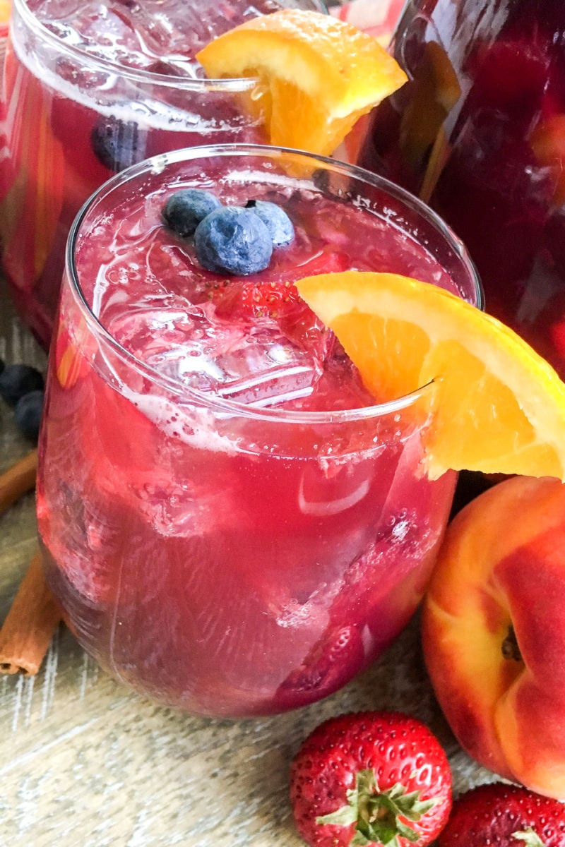 pin berry peach punch