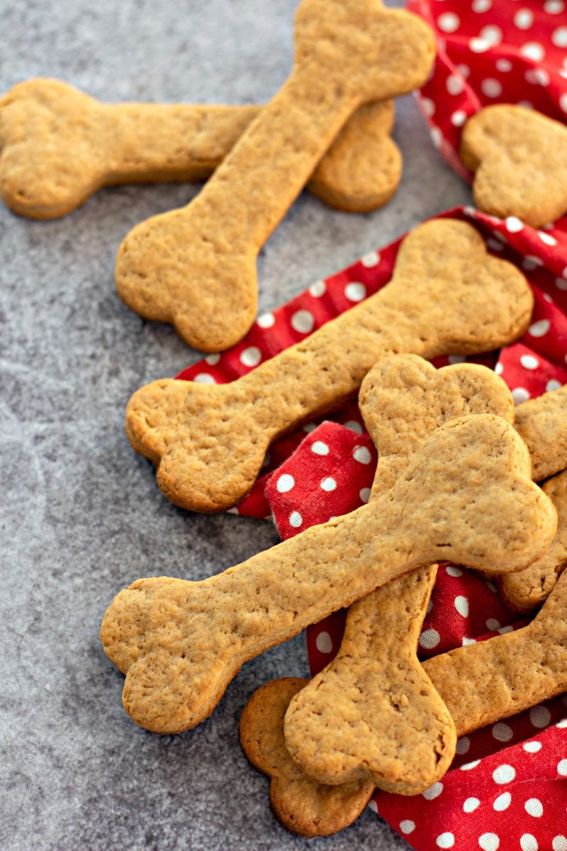 no text pin homemade dog biscuits