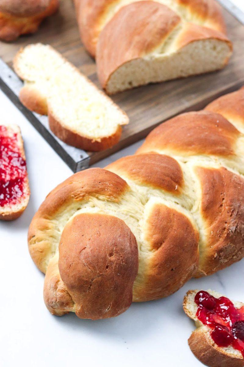 Swedish cardamom bread Recipe #BreadRecipe #BraidedBread #SwedishRecipe