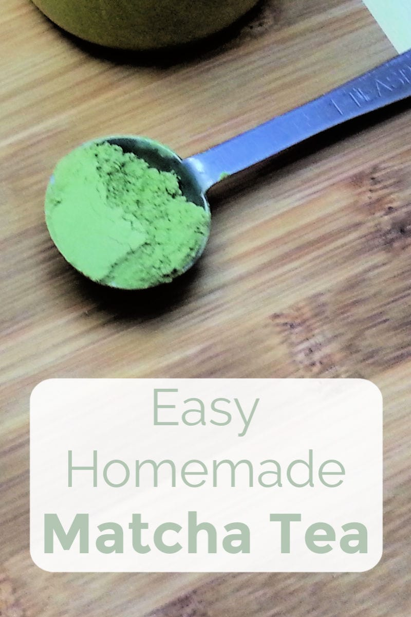 Easy Homemade Matcha Tea Recipe