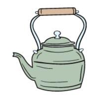 small tea kettle