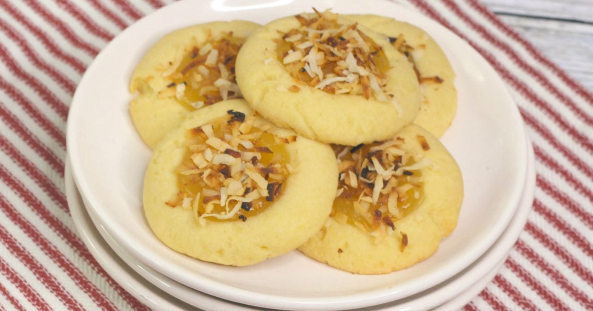 feature toasted coconut lemon cookies