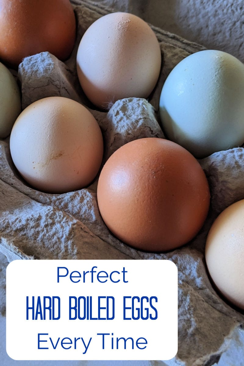 Perfect Hard Boiled Eggs Each and Every Time #Eggs #HardBoiledEggs