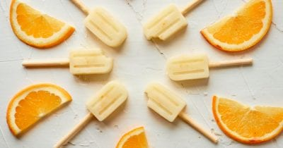 orange creamsicles popsicles