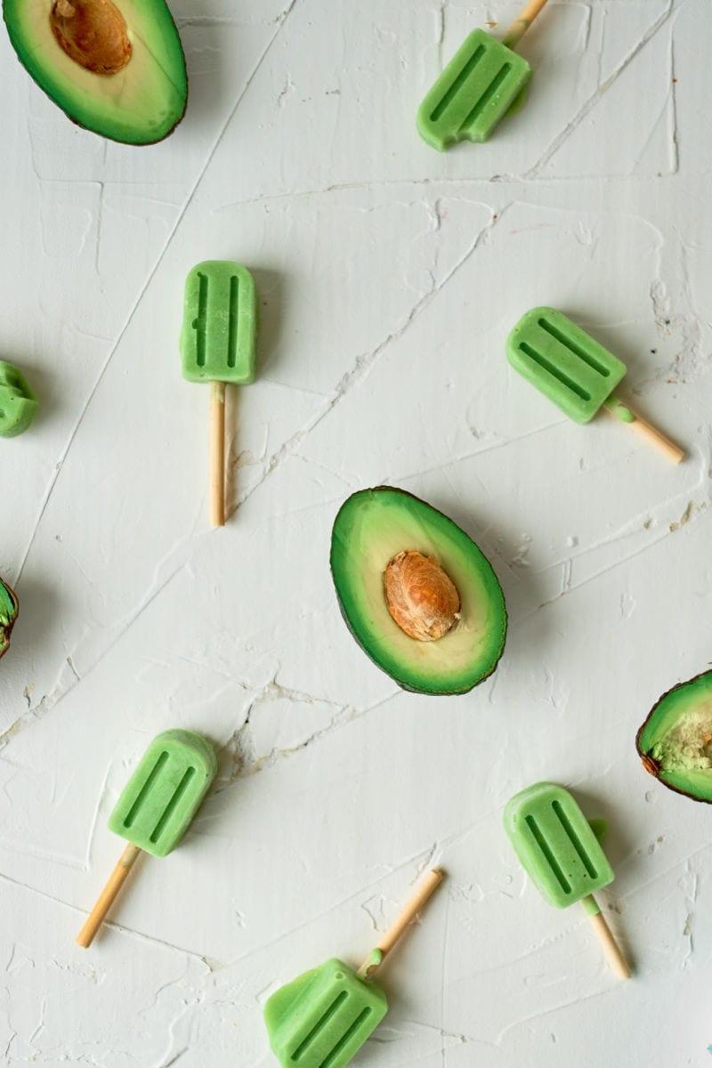 Creamy Avocado Popsicles Recipe #Popsicles #Popsicle #Avocado #AvocadoRecipes #Paletas #MexicanPaletas