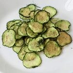 Dill Cucumber Chips in the Oven or Dehydrator