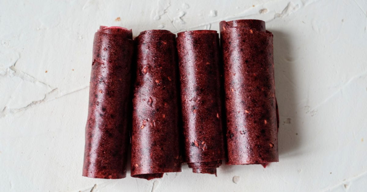 feature berry fruit roll ups