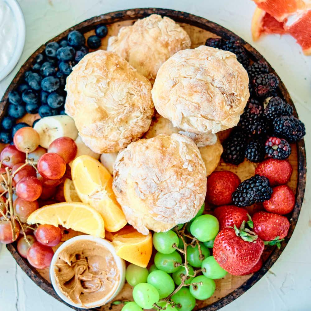 insta english muffin brunch platter