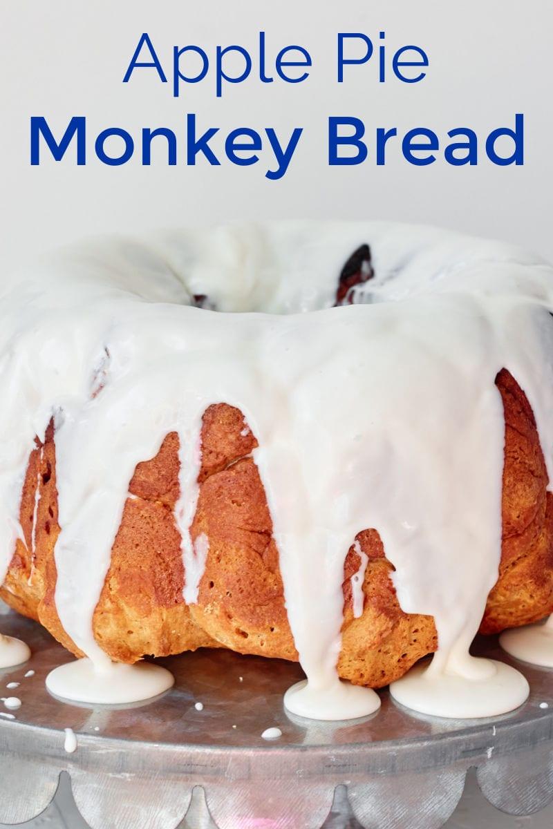 Apple Pie Monkey Bread Recipe #MonkeyBread