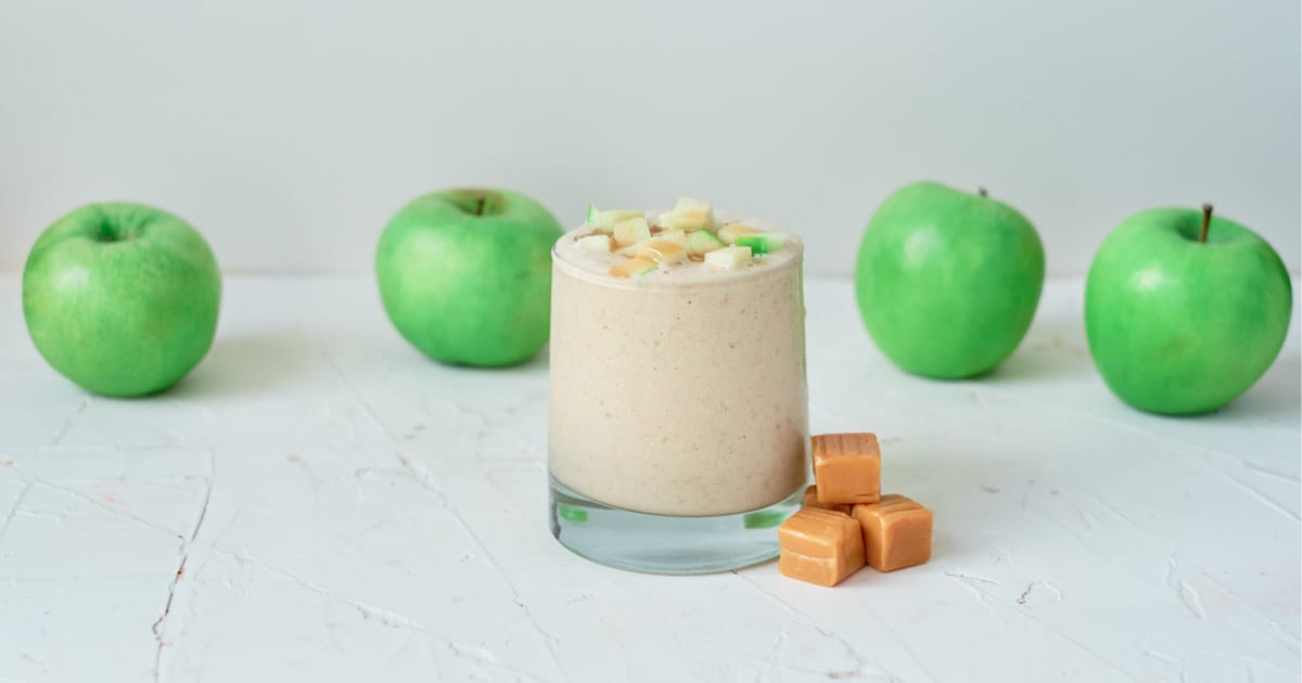recipe caramel apple oatmeal smoothie