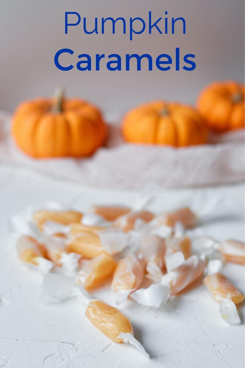 Homemade Pumpkin Caramels Recipe