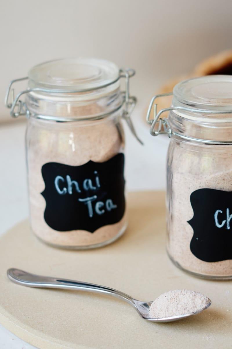 Chai Drink Mix Recipe Mason Jar Food Gift