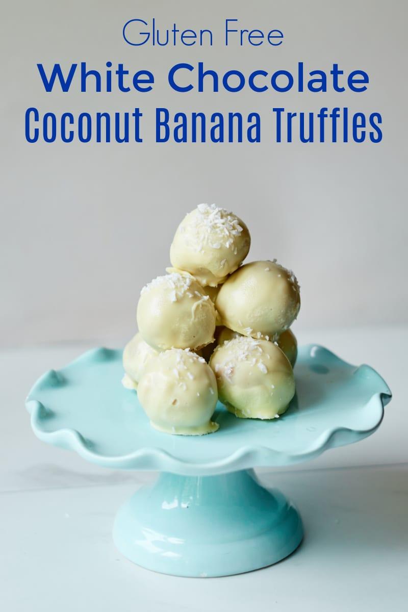 Gluten Free Coconut Banana Truffles Recipe
