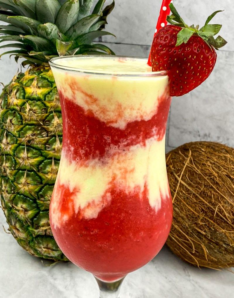 Miami Vice Frozen Drink Recipe