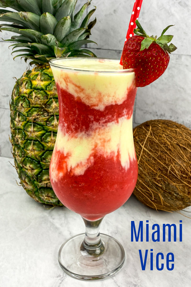 Miami Vice Frozen Drink Recipe