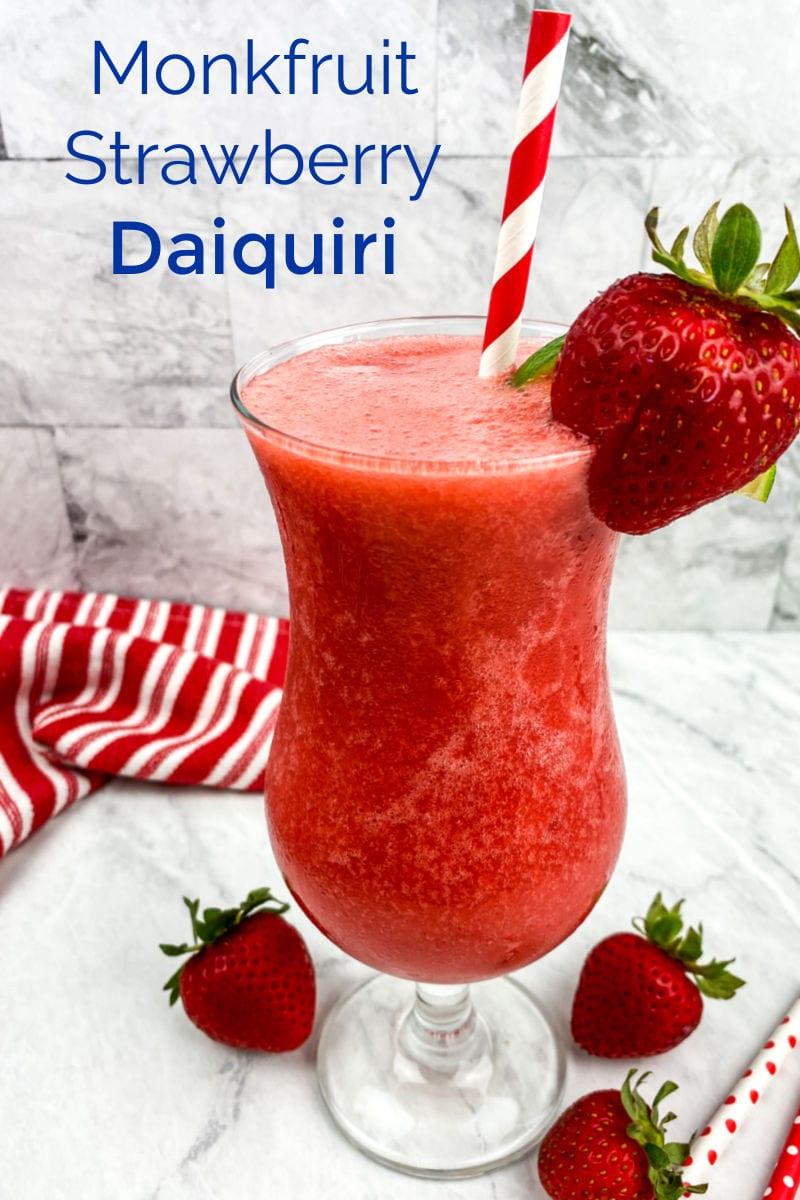 Monk Fruit Strawberry Daiquiri Recipe