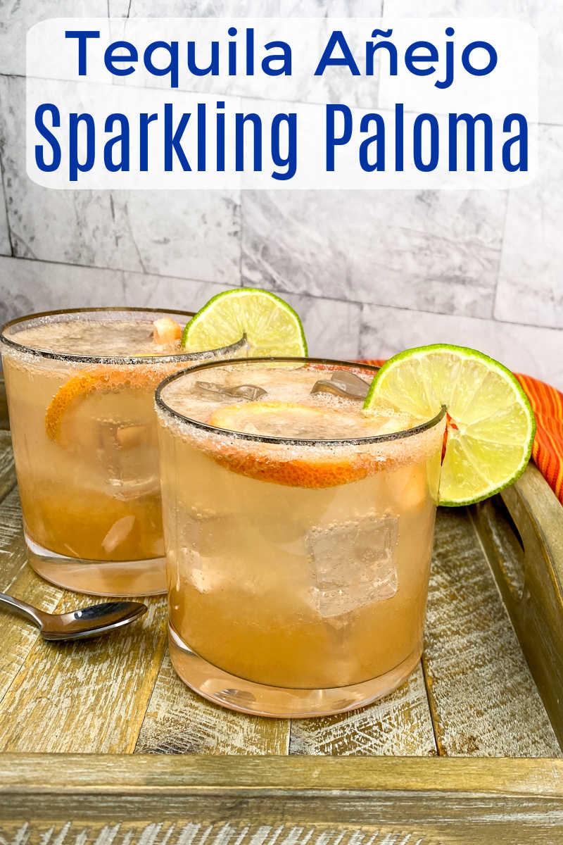 Sparkling Paloma Cocktail Recipe
