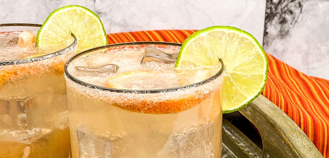 tequila sparkling paloma