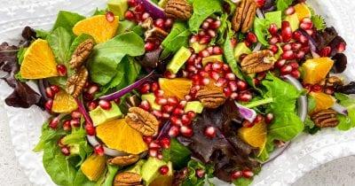 feature orange pomegranate salad