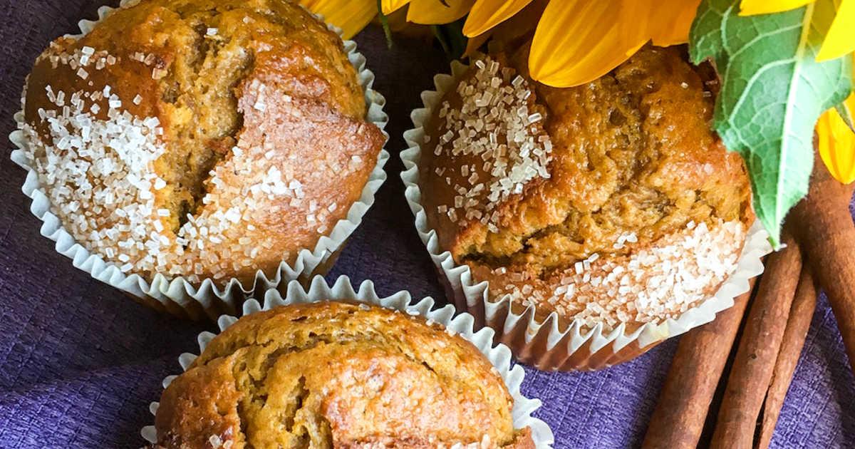 feature pumpkin spice muffins