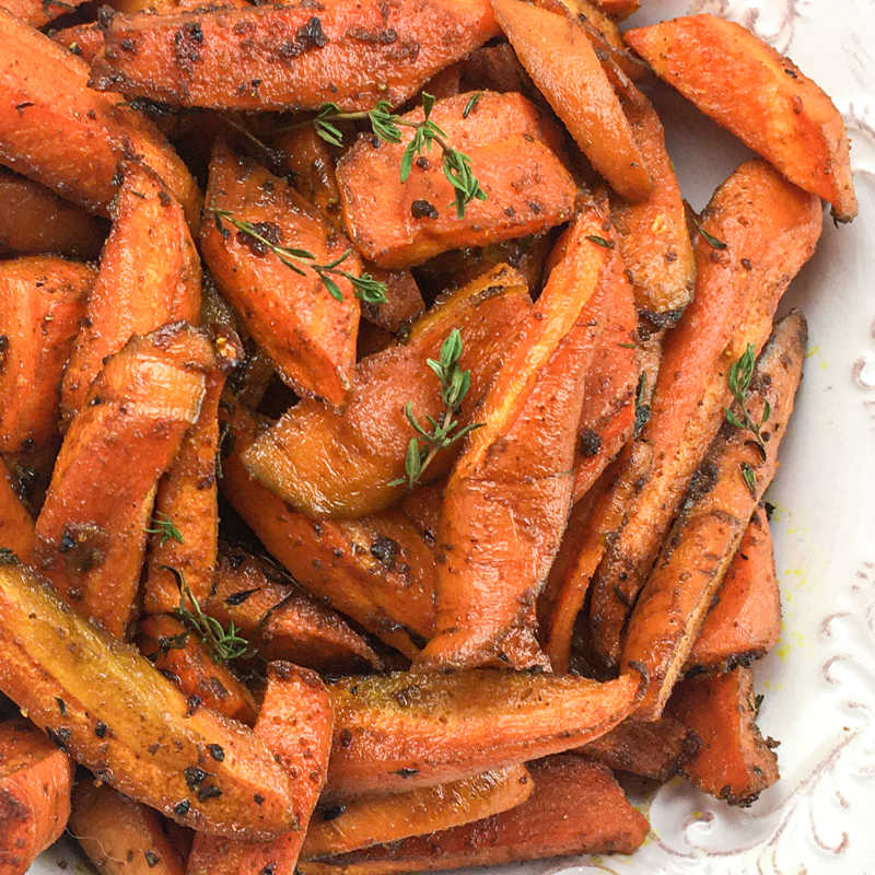pile of curry carrots