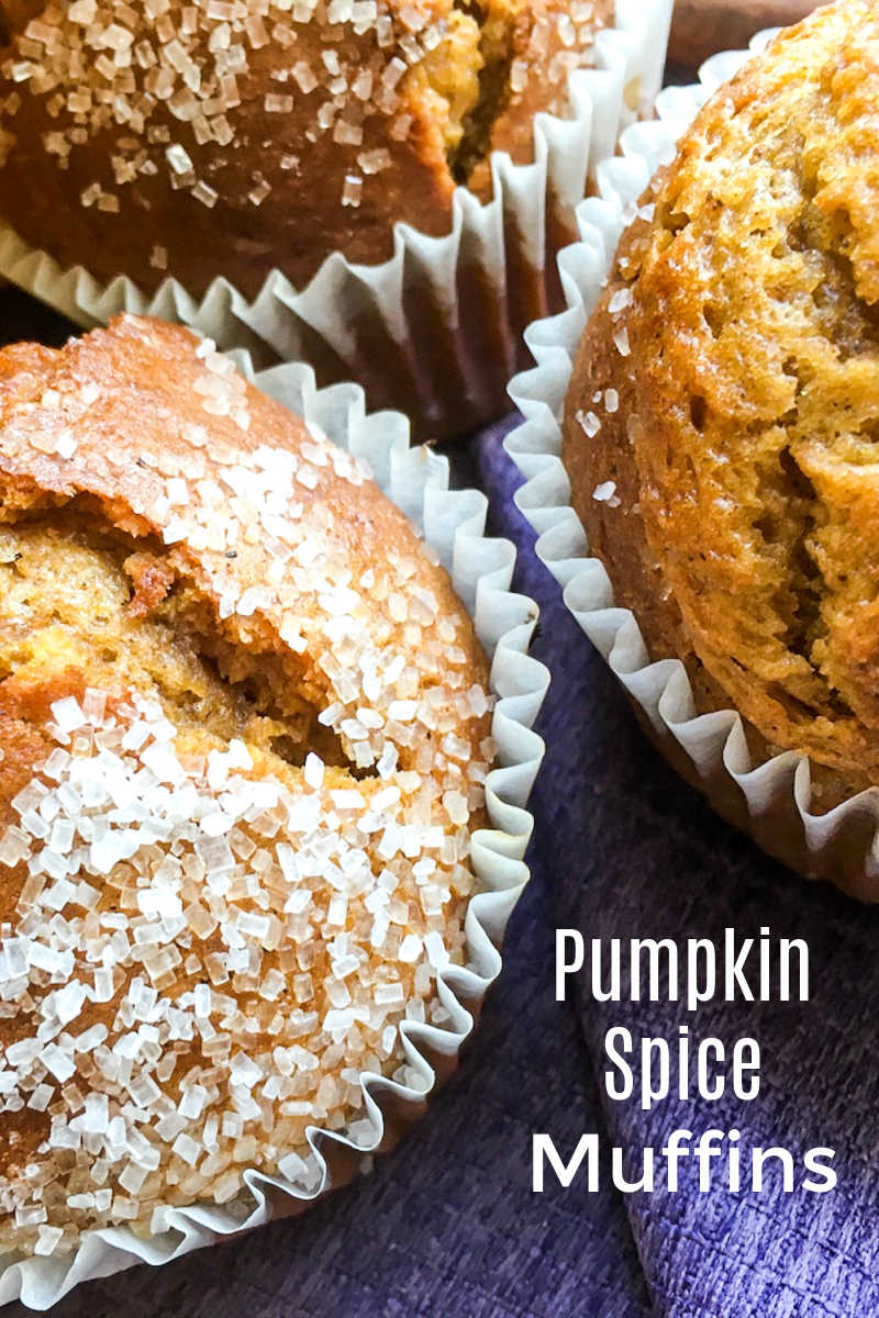 There is nothing quite like pumpkin spice muffins warm from the oven, so it's a good thing it is easy to make them from scratch.