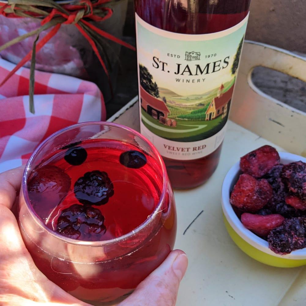st james wine spritzer