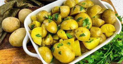 Feature instant pot parsley potatoes