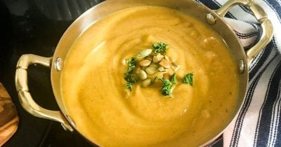 feature butternut curry soup