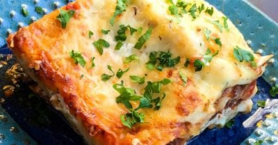 feature gruyere vegetarian lasagna