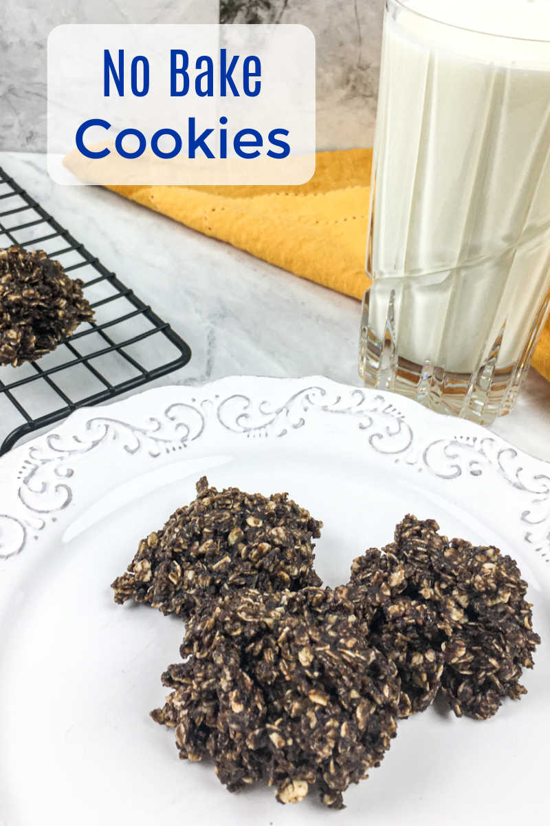 Enjoy this delicious no bake chocolate cookie recipe, when you need a treat that doesn't involve turning on the oven and heating up the house.