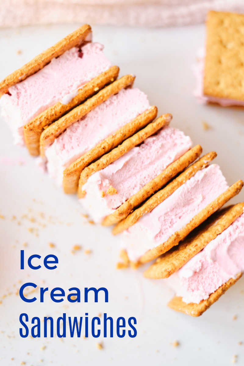 It's easy to treat yourself and your family to a homemade graham cracker ice cream sandwich, when you follow this simple recipe.