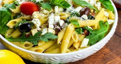 greek pasta salad.