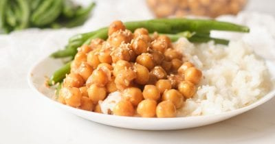 hoisin chickpeas.