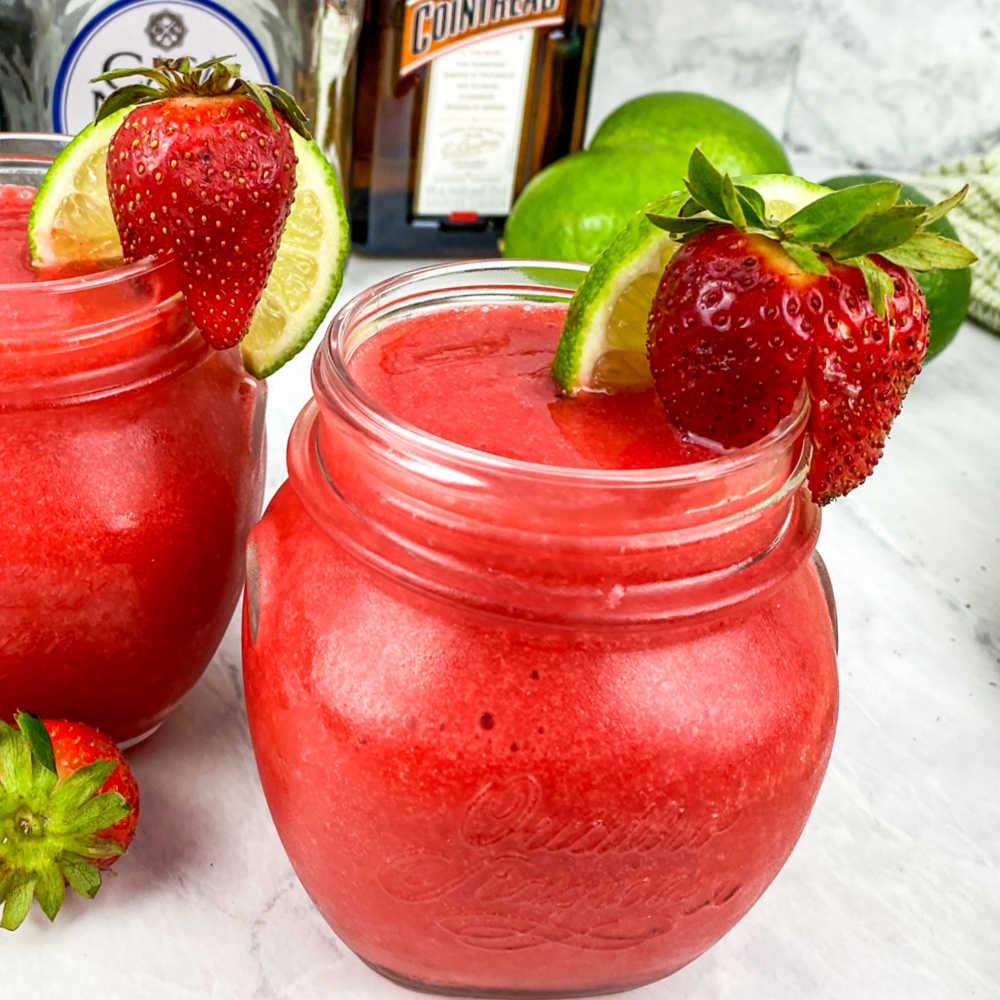 classic strawberry margarita.